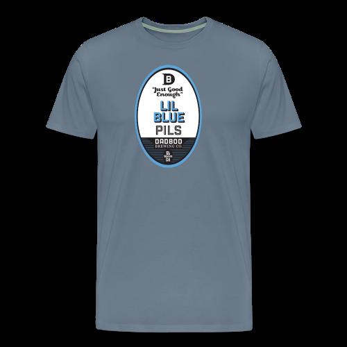 LIL BLUE PILS - Dadbod Brewing Co - Men's Premium T-Shirt