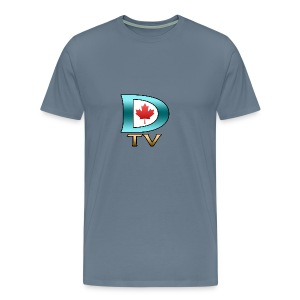 Dolynny TV Logo - Men's Premium T-Shirt