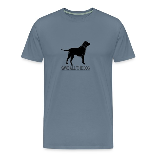 save all the dog - Men's Premium T-Shirt