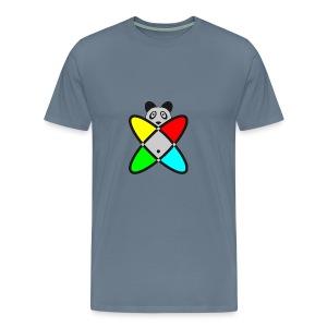 SCIENCE PANDA - Men's Premium T-Shirt