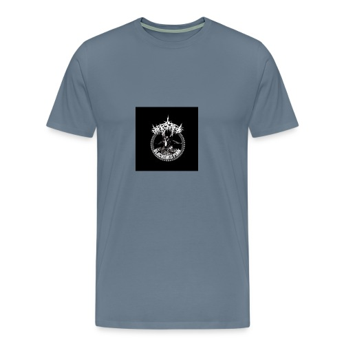 darkcharge button - Men's Premium T-Shirt