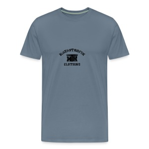 Katastrofik-used - T-shirt premium pour hommes