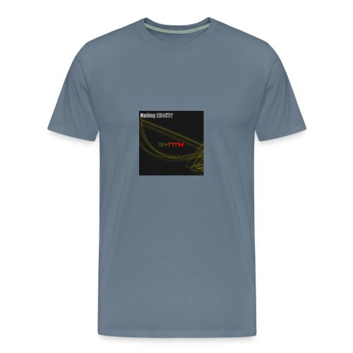 Synth - Music Cover - Men's Premium T-Shirt