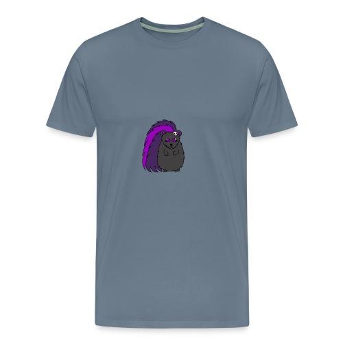 Quilla the Goth Hedgehog - Men's Premium T-Shirt