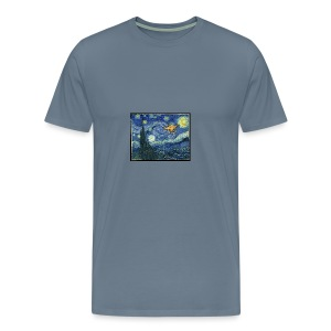 Starry Night Drone - Men's Premium T-Shirt