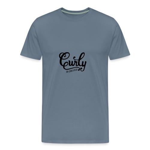 CurlyInCollege - Men's Premium T-Shirt