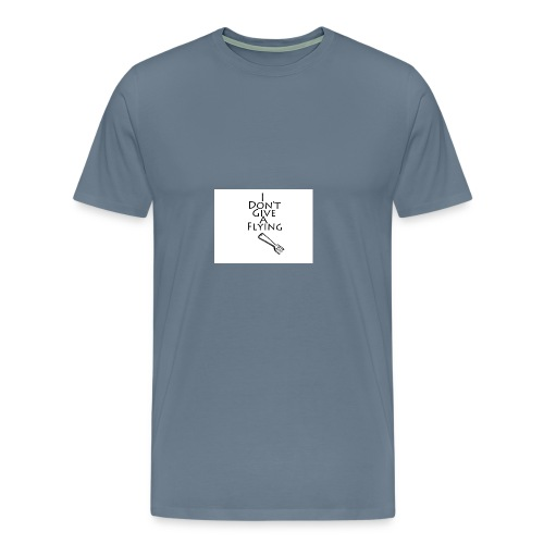 I Don't Give A Flying Fork - Men's Premium T-Shirt