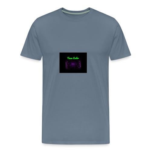 Enderman rock - Men's Premium T-Shirt