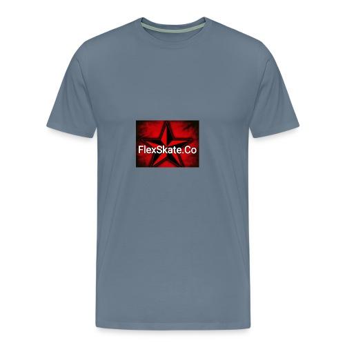 FlexSkate.Co Logo #3 - Men's Premium T-Shirt