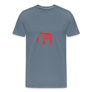 The Red Elephants Official Logo - Men's Premium T-Shirt