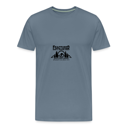 Fractured Squatch Logo - Men's Premium T-Shirt