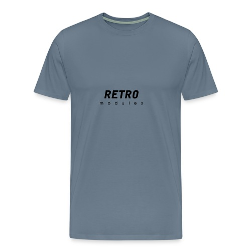 Retro Modules - sans frame - Men's Premium T-Shirt