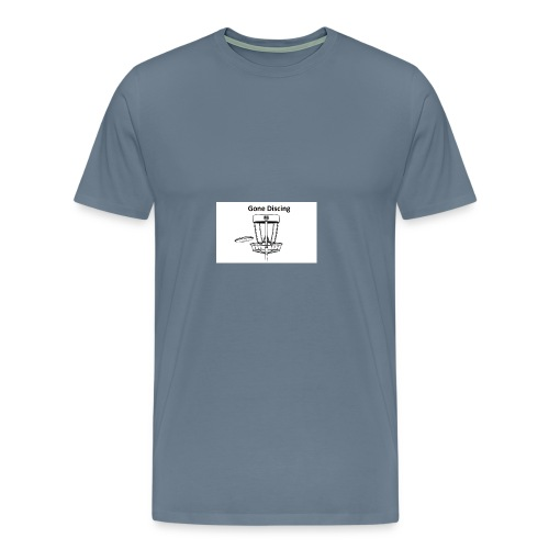 gone_discing - Men's Premium T-Shirt