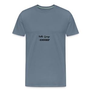 Hella Garage - Men's Premium T-Shirt