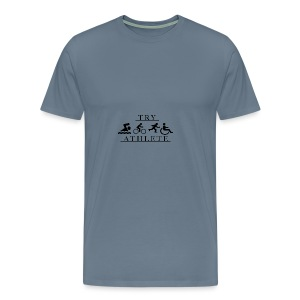 TRY ATHLETE - Men's Premium T-Shirt