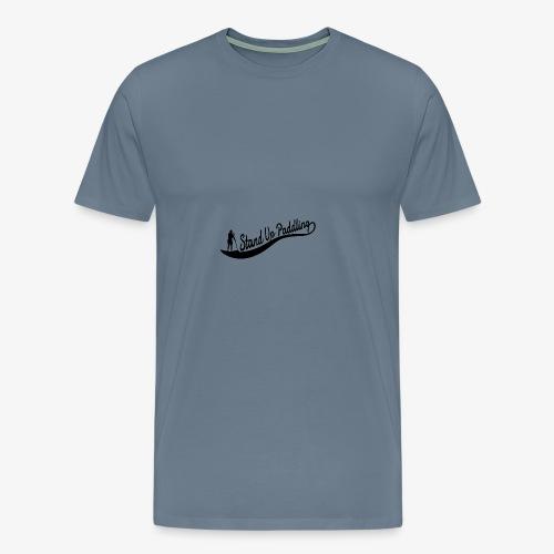 Stand Up Paddling Wave - Woman - Men's Premium T-Shirt