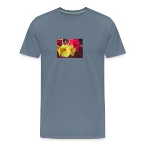 Exotic Flowers - Men's Premium T-Shirt