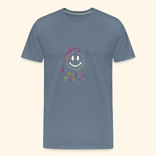 M.I.L.K. Color Splatter T-Shirt - Men's Premium T-Shirt