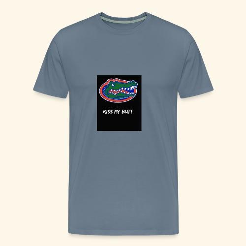 Gators kiss my butt - Men's Premium T-Shirt