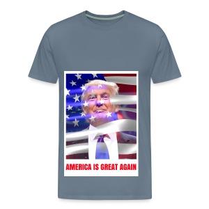AMERICA IS GREAT AGAIN - Men's Premium T-Shirt