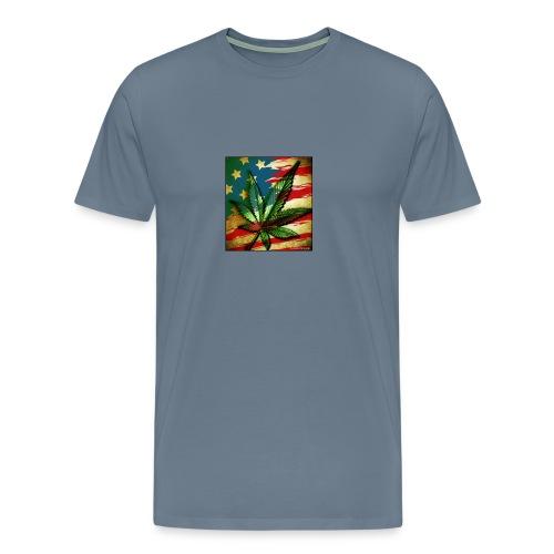 weed freedom weed memes - Men's Premium T-Shirt