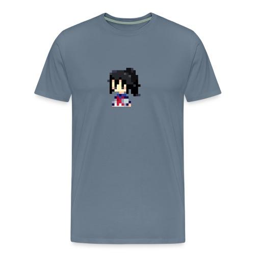 pixel manyland yandere Lara - Men's Premium T-Shirt
