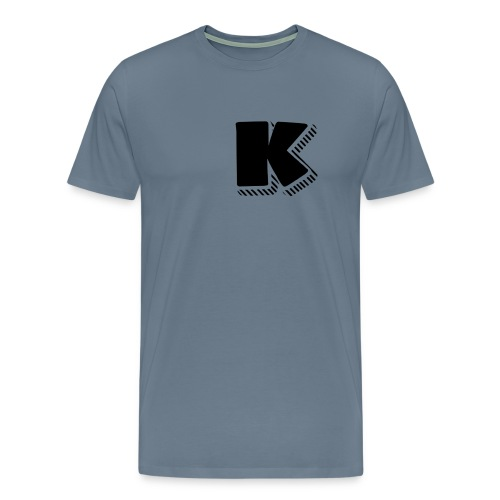 Black K - Men's Premium T-Shirt