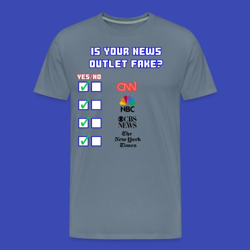 All About Fake News - Men's Premium T-Shirt