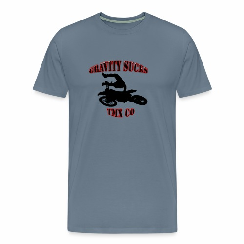 gravity sucks tmx - Men's Premium T-Shirt