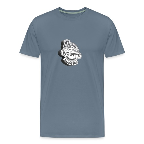 Wolffy's Hamburgers - Men's Premium T-Shirt