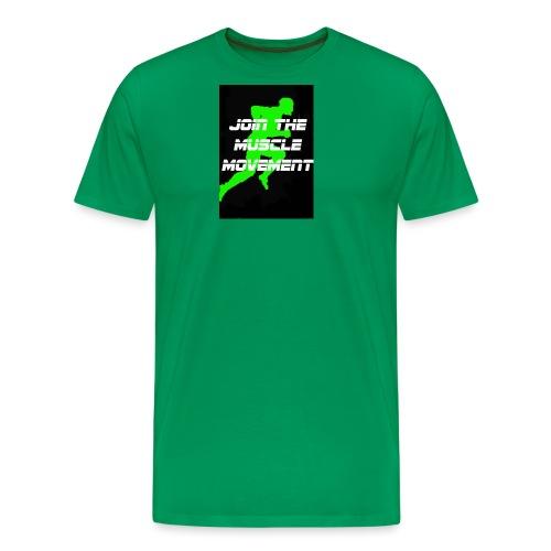 muscle movement - Men's Premium T-Shirt