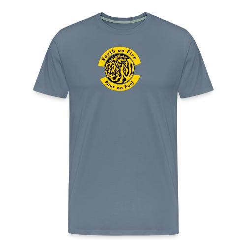 earth on fire again - Men's Premium T-Shirt