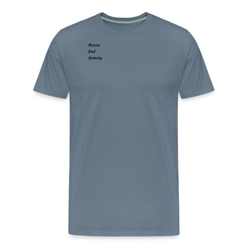 Basic AussieDadGaming - Men's Premium T-Shirt