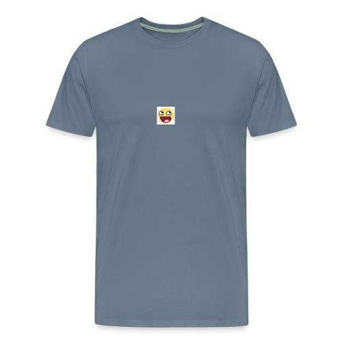 LOGIC Bitz Smily - Men's Premium T-Shirt