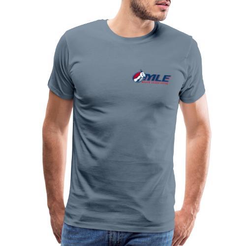 Major League Eating Small Logo - Men's Premium T-Shirt