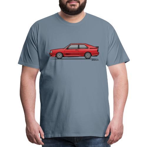 four rings b2 red quattro - Men's Premium T-Shirt