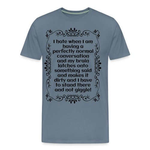 giggle. - Men's Premium T-Shirt