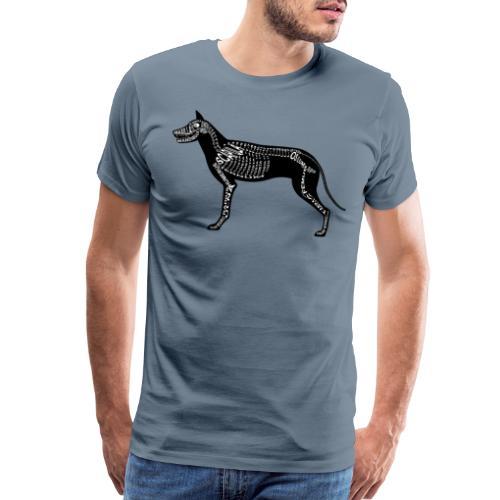 Skeleton Dog - Men's Premium T-Shirt