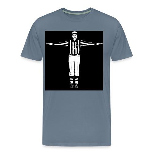 refereeunsportsmanlikeconductsignal - Men's Premium T-Shirt