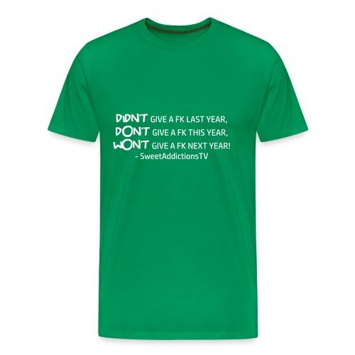 quote1 W png - Men's Premium T-Shirt