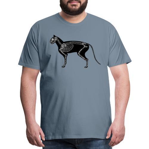 Skeleton Cat - Men's Premium T-Shirt