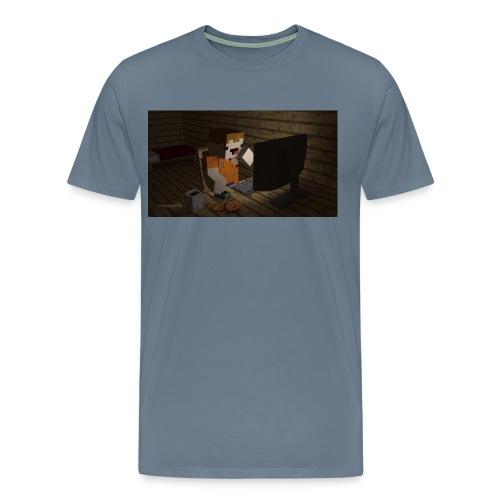 novaskin wallpaper jpg - Men's Premium T-Shirt