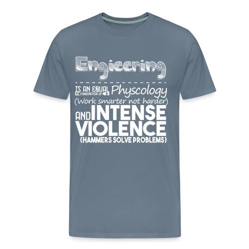 Engineering No Blue - Men's Premium T-Shirt