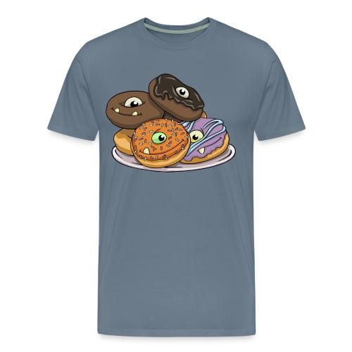 Monster Donuts Mug - Men's Premium T-Shirt
