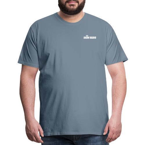 Axon Radio | White night apparel. - Men's Premium T-Shirt