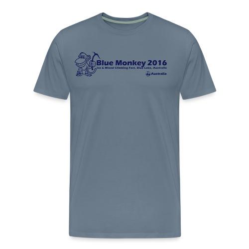 Blue Monkey 2016 T Shirt V1 - Men's Premium T-Shirt