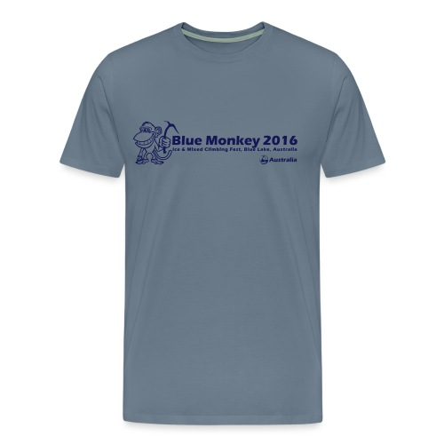 Blue Monkey 2016 T Shirt V1 - Men's Premium T-Shirt