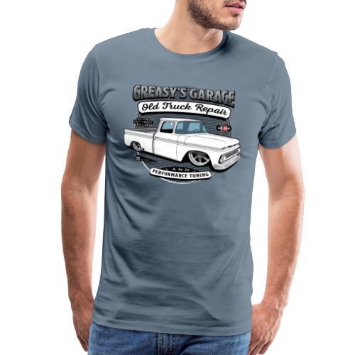 Greasy's Garage Old Truck Repair - Men's Premium T-Shirt