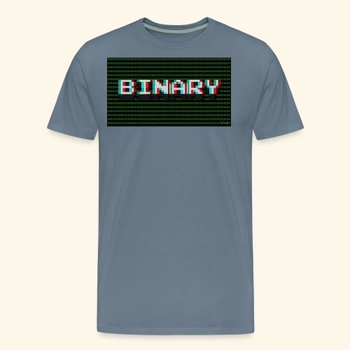 Binary - Men's Premium T-Shirt