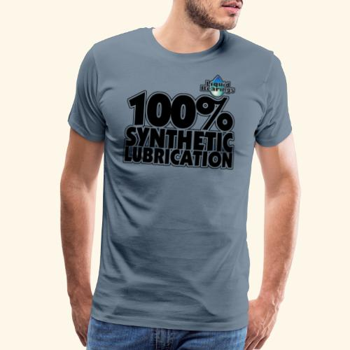 LB - 100% Lubrication - Men's Premium T-Shirt